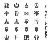 business flat icons | Shutterstock .eps vector #196033694