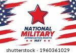 national military appreciation...   Shutterstock .eps vector #1960361029