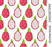 bright seamless pattern with...   Shutterstock .eps vector #1960387090