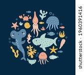 cute vector concept  adorable... | Shutterstock .eps vector #1960391416