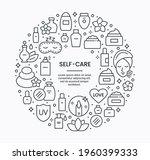 vector beauty care background...   Shutterstock .eps vector #1960399333