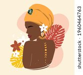 beautiful summer girl and...   Shutterstock .eps vector #1960464763
