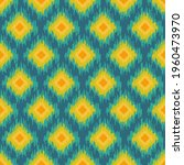 abstract ethnic ikat chevron... | Shutterstock .eps vector #1960473970