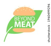 beyond meat vector icon. plant...   Shutterstock .eps vector #1960499296