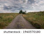 An Empty  Dirt Road  Bieszczady ...