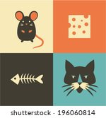vector illustration icon set of ...