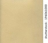 beige leather texture | Shutterstock . vector #196061000