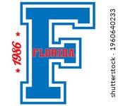 vintage college varsity font...   Shutterstock .eps vector #1960640233