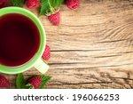 Raspberry Tea With Berry Fruit...