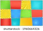 pop art background. comic... | Shutterstock .eps vector #1960664326