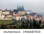 Foggy Panorama Of Hradcany With ...