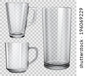 Two Translucent Cups And One...