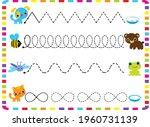 zig zag line handwriting for...   Shutterstock .eps vector #1960731139