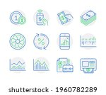finance icons set. included...   Shutterstock .eps vector #1960782289