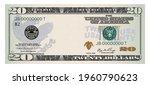 Us Dollars 20 Banknote ...