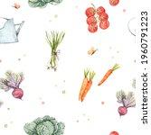watercolor seamless pattern...   Shutterstock . vector #1960791223