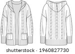 Women's Cable Cardigan....