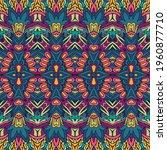 vector seamless pattern...   Shutterstock .eps vector #1960877710