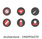 vaccination icons set. health...
