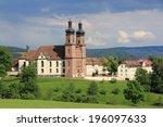 benedictine abbey of st. peter... | Shutterstock . vector #196097633