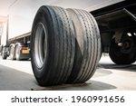 A Big Truck Wheels And Tires....