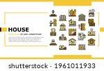 timber frame house landing web... | Shutterstock .eps vector #1961011933