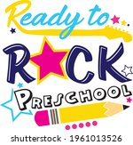 back to school svg ready to... | Shutterstock .eps vector #1961013526