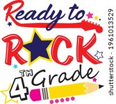 back to school svg ready to... | Shutterstock .eps vector #1961013529
