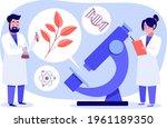 biotechnology concept. biology  ...   Shutterstock .eps vector #1961189350