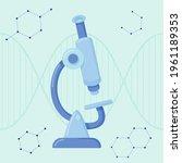 biotechnology concept. biology  ...   Shutterstock .eps vector #1961189353