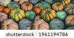 Variety Of Pumpkins Orange ...