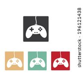video game icons set. vector...
