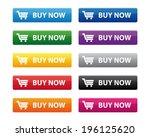 buy now buttons. vector...   Shutterstock . vector #196125620