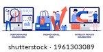performance advertising... | Shutterstock .eps vector #1961303089