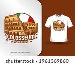 the colosseum landmarks and... | Shutterstock .eps vector #1961369860