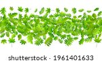 forest leaves vivid vector... | Shutterstock .eps vector #1961401633