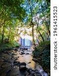 long exposure smooth flowing...   Shutterstock . vector #1961415523