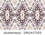 dusty ethnic tie dye. old... | Shutterstock . vector #1961417353