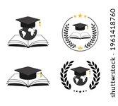 illustration set education... | Shutterstock . vector #1961418760