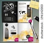 brochure design | Shutterstock .eps vector #196142003