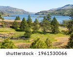 View Of The Columbia River And...