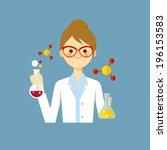 professional teachers | Shutterstock .eps vector #196153583