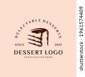bakery and dessert logo  sign ...   Shutterstock .eps vector #1961574409