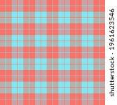 easter tartan plaid. scottish...   Shutterstock .eps vector #1961623546