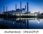 electricity power plant near a...