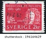 sweden   circa 1963  stamp...   Shutterstock . vector #196164629