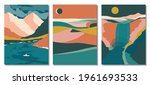 abstract contemporary aesthetic ... | Shutterstock .eps vector #1961693533