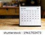 September 2021 Calendar   Month ...