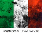 Italy  Italian Flag On Concrete ...