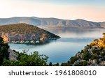 Scenic Landscape In Argolida ...